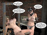 Sexy fat milf will hardly survive in hardcore torturing set!
