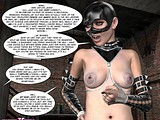Sexy little whore gets enslaved in a hellish dungeon of horny mistress!